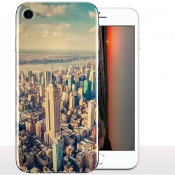 Coque iPhone 8 Manhattan, Coque portable Grattes Ciel