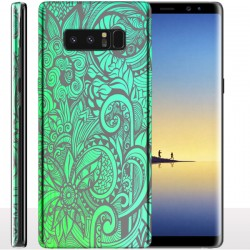 Coque Samsung Note 8 Summertime, Coque portable pour Galaxy Note 8 Mint
