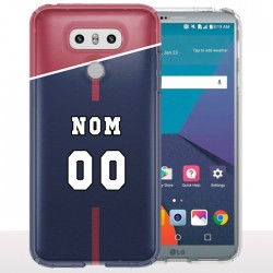 Coque LG G6 PSG - Coque portable personnalisable Football Ligue 1