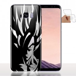 Coque Silicone Samsung S8 Vegeta - Gel - Souple