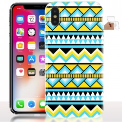 Coque iPhone X Entre Amazon et Aztek - Silicone