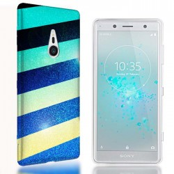 Coque Xperia Xz2 Glitter Colorfull