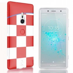 Coque Sony Xperia Xz2 Coupe du Monde de Foot Croatie