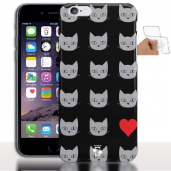 Coque tel portable Silicone Cats Love iPhone 6 Plus / Coque gel Tpu 5.5""