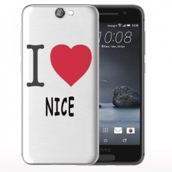 Coque Telephone a Nice - Coque Htc One M9 Love Nice
