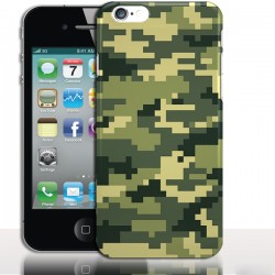 Coque iPhone 4 Camouflage Army - Protection rigide